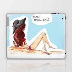 beach/bitch days Laptop & iPad Skin