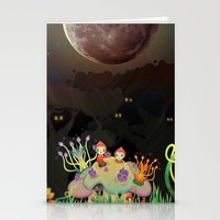 Mini Shrooms Stationery Cards
