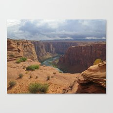 Glen Canyon Overlook Canvas Print
