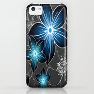 Cobalt And Charcoal iPhone 5c Slim Case