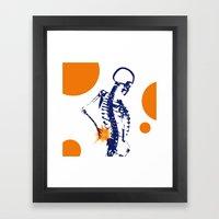 The Pain Framed Art Print