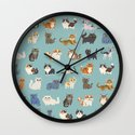 Cats! Wall Clock