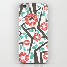 Blooming Trees Pattern IV iPhone & iPod Skin