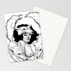 Raised by Wolves Stationery Cards