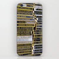 Paris Flea Market Books iPhone & iPod Skin