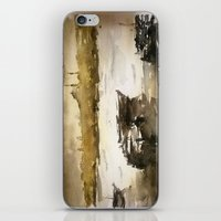 Istanbul in yellow iPhone & iPod Skin