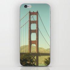 Golden Gate Bridge iPhone & iPod Skin