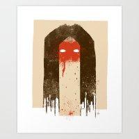 The Silence (Native Woma… Art Print