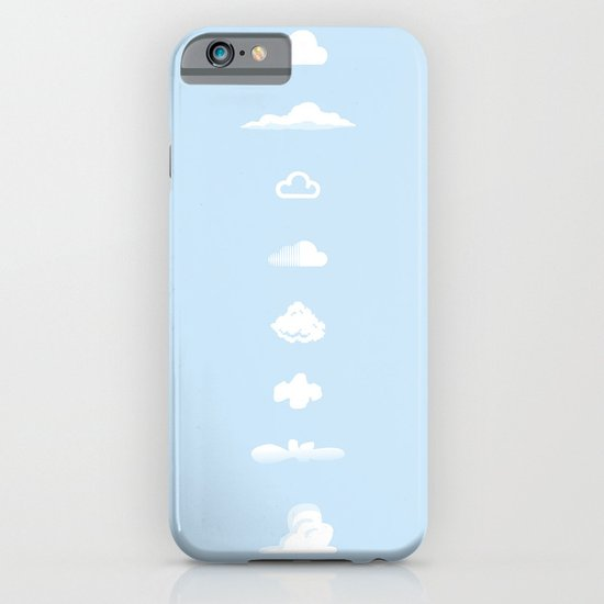 Famous Clouds iPhone & iPod Case