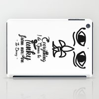 Everything I Do Gonna Be Funky (For Now On) iPad Case