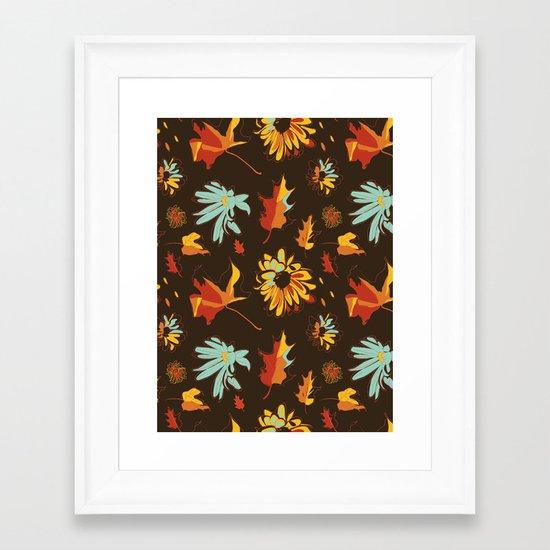 Fall/Autumn Framed Art Print
