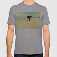 The Artist At Work Mens Fitted Tee Athletic Grey SMALL