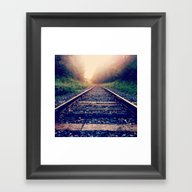 Create Your Own Path Framed Art Print