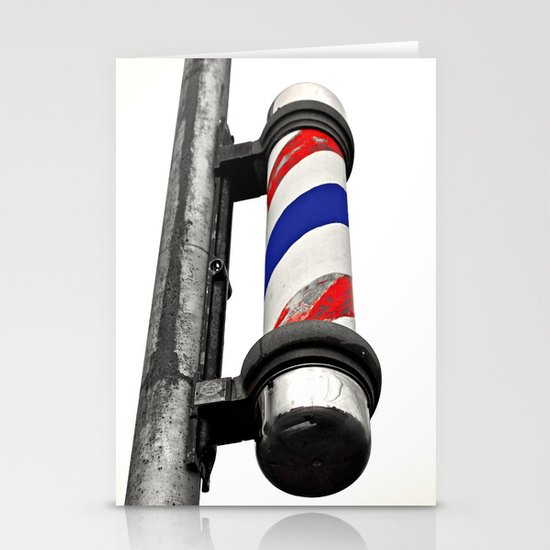 Haircuts here Stationery Card