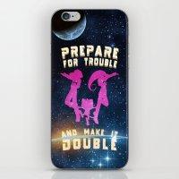 Team Rocket Galaxy (Poke… iPhone & iPod Skin