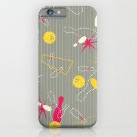 iPhone & iPod Case featuring Bowling Pinstripe by AllisonBeilke