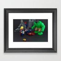 Ironman Falls Framed Art Print