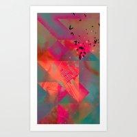 Twtyl Flyyt Art Print