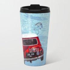 deep water swimming mini #1 Travel Mug