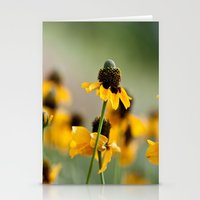 Yellow hats Stationery Cards