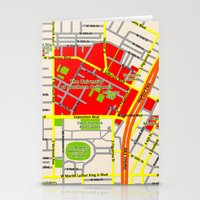 Map Design Of The Univer… Stationery Cards