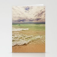 Green Sea Stationery Cards
