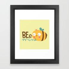 Bee Mine Framed Art Print