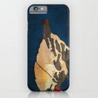 Finch On Blue iPhone 6 Slim Case