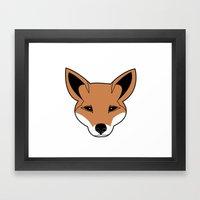 Fox the Fox Framed Art Print