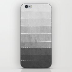 Brushstroke - Ombre Grey, Charcoal, minimal, Monochrome, black and white, trendy,  painterly art  iPhone & iPod Skin