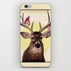 Butterfly collector iPhone & iPod Skin