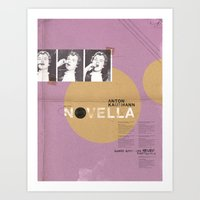 Novella Series Art Print