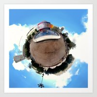 Around Tel Aviv Stereogr… Art Print