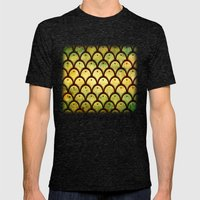 Pattern Mens Fitted Tee Tri-Black SMALL