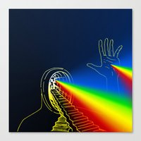 The Left Hand of Darkness (Sanslucence)  Canvas Print
