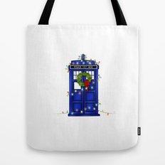 Christmas Phone Box Tote Bag