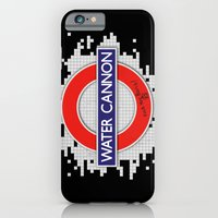 iPhone & iPod Case featuring Water Cannon by PsychoBudgie