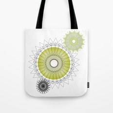Modern Spiro Art #5 Tote Bag