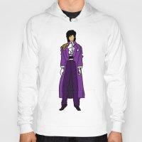 Prince - Purple Rain - Violet Hoody