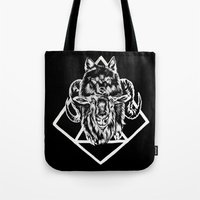 Goat as wolf Tote Bag