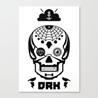 Mexican Skull Canvas Print