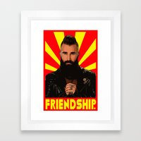 Friendship  |  Paul Abrahamian  |  Big Brother Framed Art Print