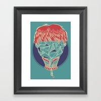 The Plurals Framed Art Print