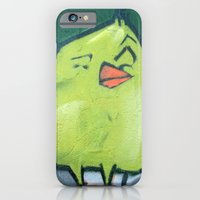 iPhone & iPod Case featuring yellow bird by redlinedesign®