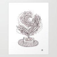 The Music Maker Art Print