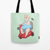 Reserved Parking Tote Bag