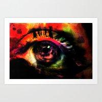 mystic eye Art Print