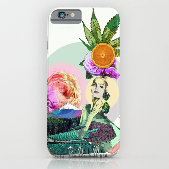 Let Nature Be Your Muse iPhone & iPod Case