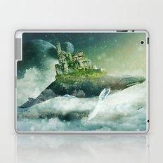 Flying kingdoms Laptop & iPad Skin