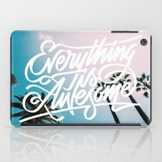 Everything is awesome iPad Case